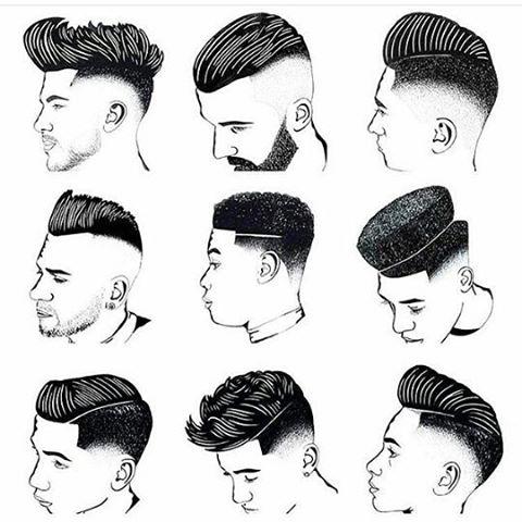 Model Rambut Pria Barbershop